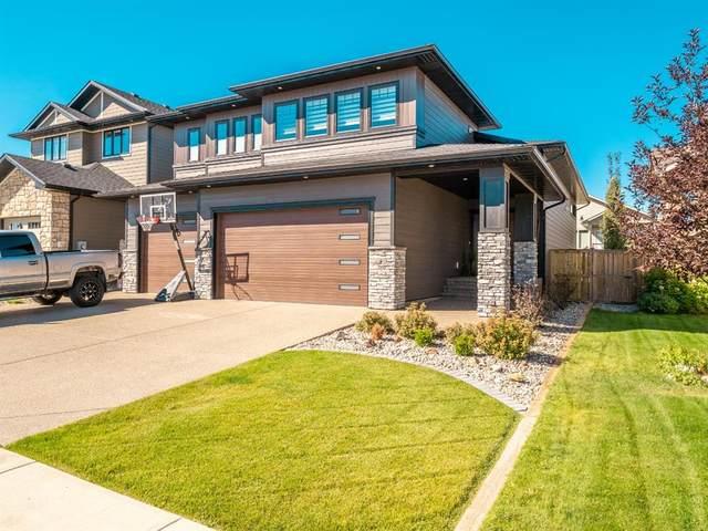 232 Canyon Estates Way W, Lethbridge, AB T1K 5W7 (#A1032340) :: Canmore & Banff