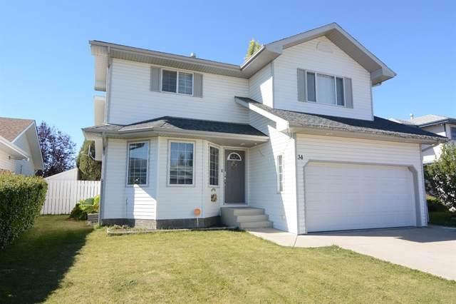 34 Logan Close, Red Deer, AB T4R 2N8 (#A1032420) :: Canmore & Banff