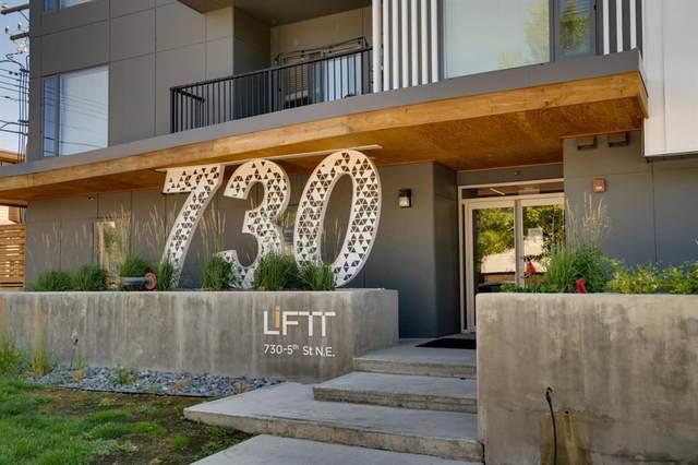 730 5 Street NE #310, Calgary, AB T2E 3W8 (#A1032517) :: Calgary Homefinders