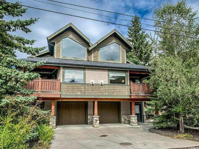 805 7th Street #2, Canmore, AB T1W 2C4 (#A1032567) :: Calgary Homefinders