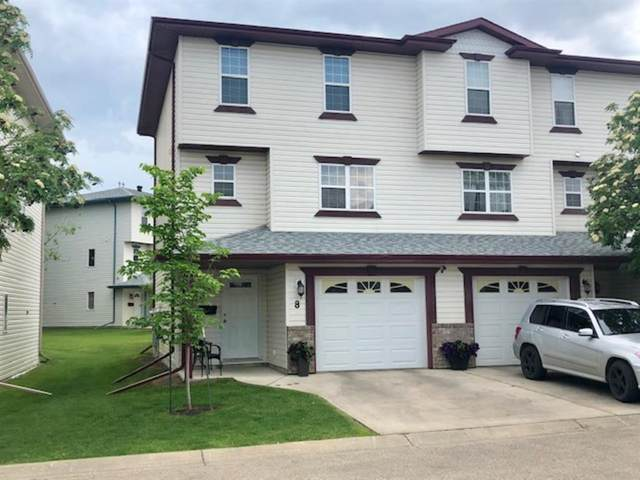 8 Kerry Wood Mews, Red Deer, AB T4N 7B8 (#A1033036) :: Canmore & Banff