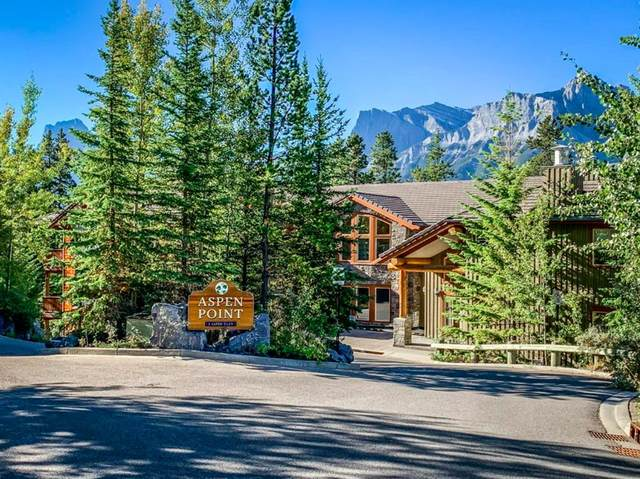 3 Aspen Glen #102, Canmore, AB T1W 1A6 (#A1033196) :: The Cliff Stevenson Group