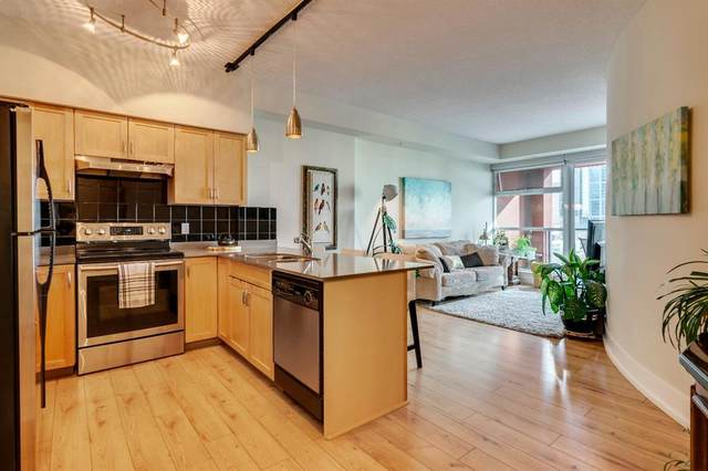 205 Riverfront Avenue SW #610, Calgary, AB T2P 5K4 (#A1033261) :: Canmore & Banff