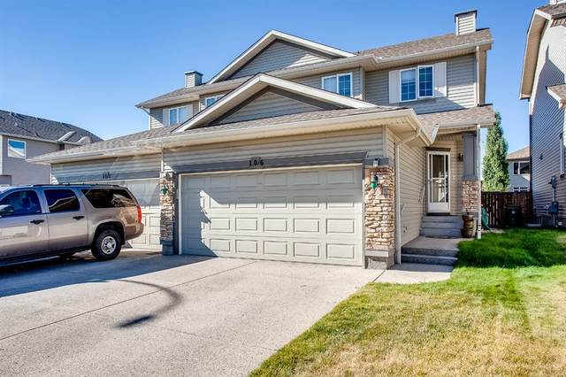 106 West Pointe Court, Cochrane, AB T4C 0B9 (#A1033355) :: Canmore & Banff
