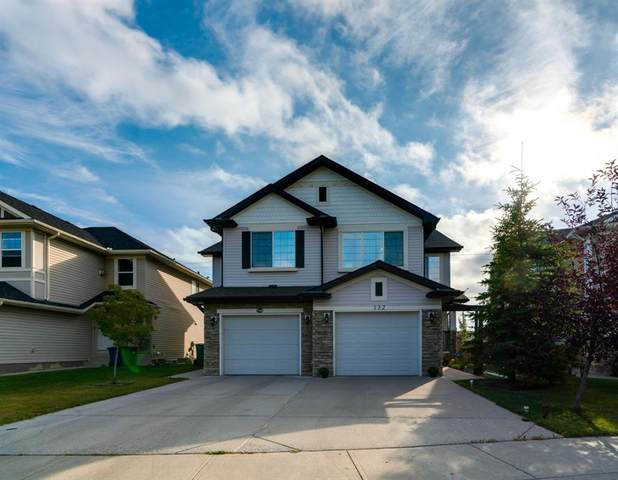 132 Canals Circle SW, Airdrie, AB T4B 3E9 (#A1033444) :: Canmore & Banff