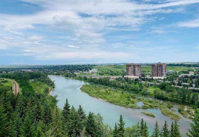 80 Point Mckay Crescent NW #1805, Calgary, AB T3B 4W4 (#A1033532) :: Western Elite Real Estate Group