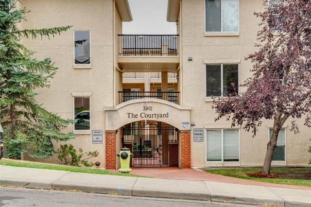 3912 Stanley Road SW #205, Calgary, AB T2S 2P3 (#A1033808) :: Canmore & Banff