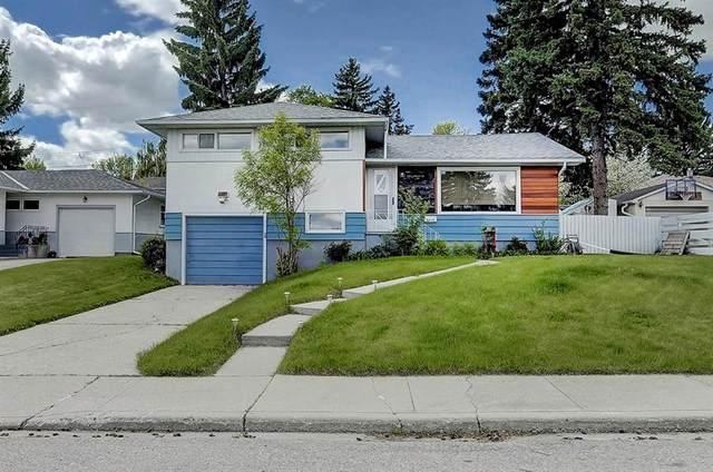 6015 Thornbank Drive NW, Calgary, AB T2K 3P4 (#A1033825) :: Team J Realtors