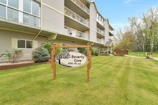 4500 45 Avenue #206, Innisfail, AB T4G 0A3 (#A1034189) :: Redline Real Estate Group Inc