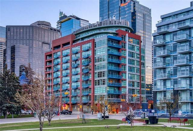 205 Riverfront Avenue SW, Calgary, AB T2P 5K4 (#A1034448) :: Canmore & Banff