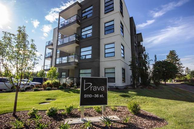 5110 36 Street #407, Red Deer, AB T4N 0T2 (#A1034536) :: Canmore & Banff