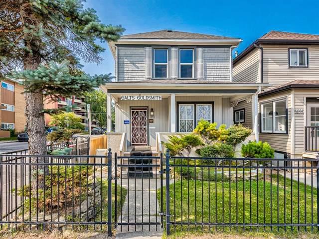 2227 14 Street SW, Calgary, AB T2T 3T2 (#A1034801) :: Calgary Homefinders