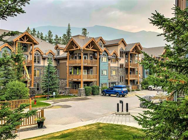 175 Crossbow Place #118, Canmore, AB T1W 3H7 (#A1034861) :: Team J Realtors