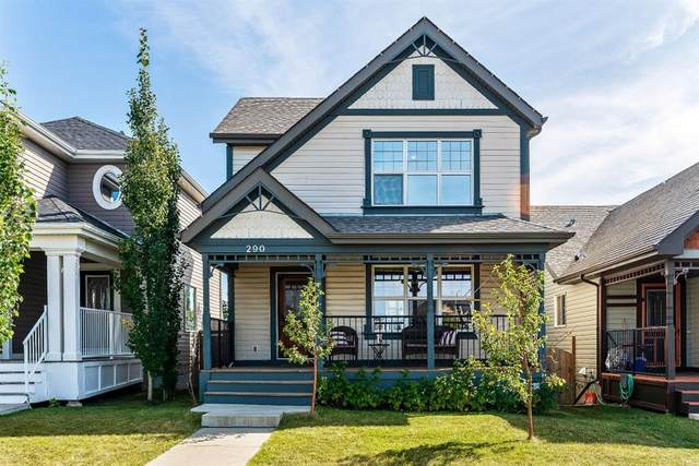 290 Sunset Heights, Cochrane, AB T4C 0E1 (#A1034915) :: Western Elite Real Estate Group