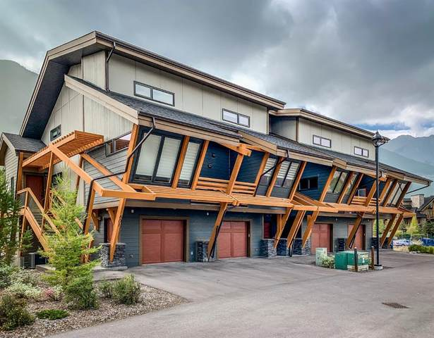 105 Stewart Creek Rise #801, Canmore, AB T1W 0J5 (#A1035130) :: Team J Realtors