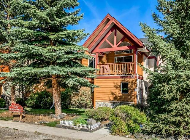 830 4 Street #2, Canmore, AB T1W 2H6 (#A1035196) :: Calgary Homefinders