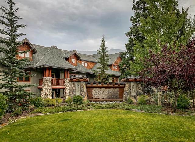 170 Crossbow Place #213, Canmore, AB T1W 3H4 (#A1035536) :: Team J Realtors