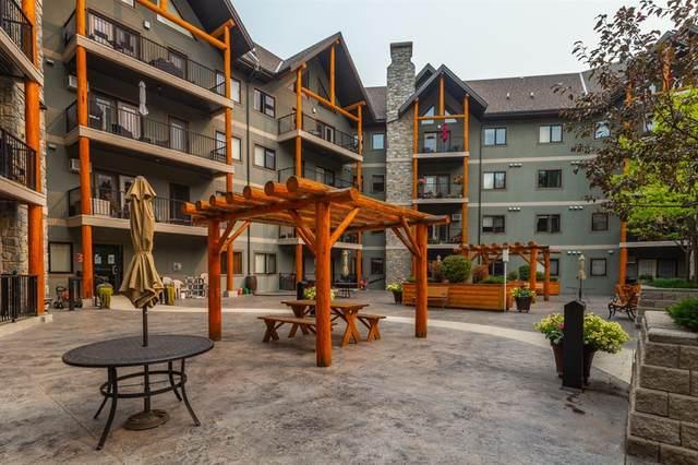 77 George Fox Trail #204, Cochrane, AB T4C 0N1 (#A1035547) :: Western Elite Real Estate Group