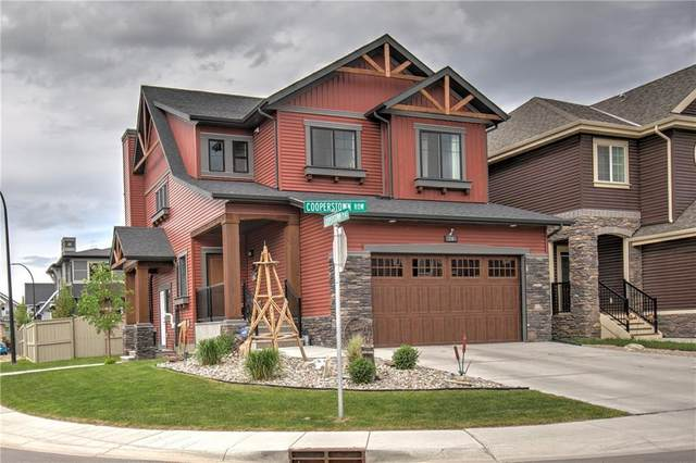 26 Cooperstown Row SW, Airdrie, AB T4B 3T5 (#A1036079) :: Team J Realtors