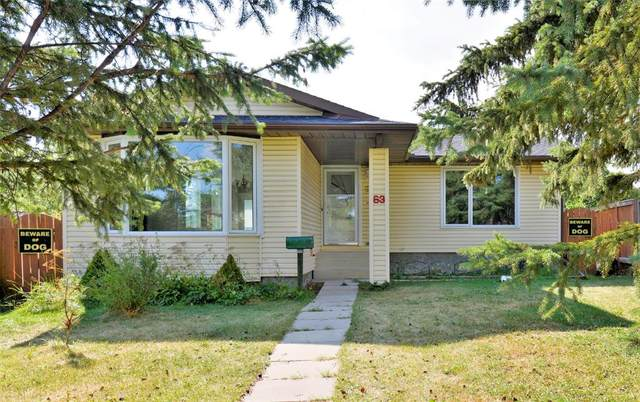 63 Falsby Place NE, Calgary, AB T3J 1B9 (#A1036215) :: Canmore & Banff