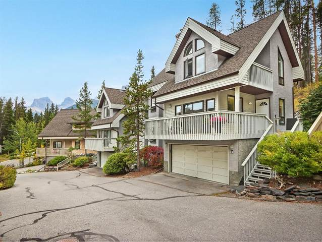 100 Grassi Place #4, Canmore, AB T1W 2N2 (#A1036216) :: Canmore & Banff