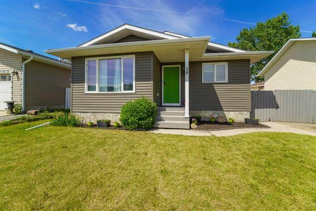38 Sandstone Avenue, Lacombe, AB T4L 1P7 (#A1036374) :: Canmore & Banff