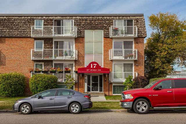 17 13 Street NW #104, Calgary, AB T2N 1Z1 (#A1036466) :: Calgary Homefinders
