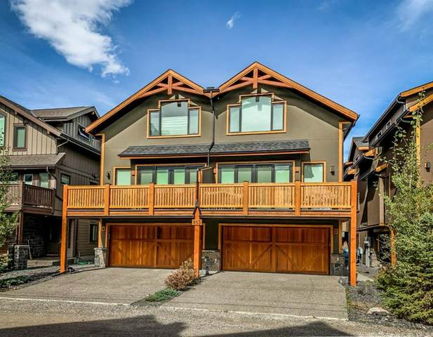 813 4 Street #4, Canmore, AB T1W 2G9 (#A1036593) :: Calgary Homefinders