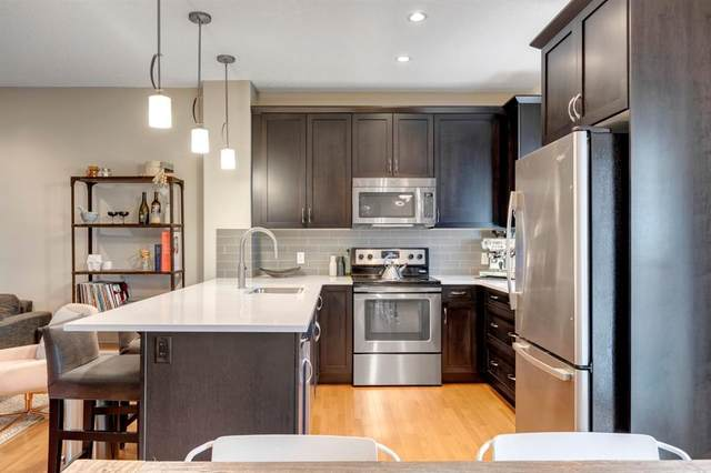 66 Beny-Sur-Mer Road SW #6, Calgary, AB T3E 7Y3 (#A1036679) :: Canmore & Banff