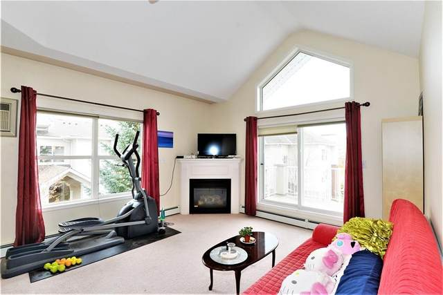 6800 Hunterview Drive NW #316, Calgary, AB T2K 6K5 (#A1037265) :: Canmore & Banff