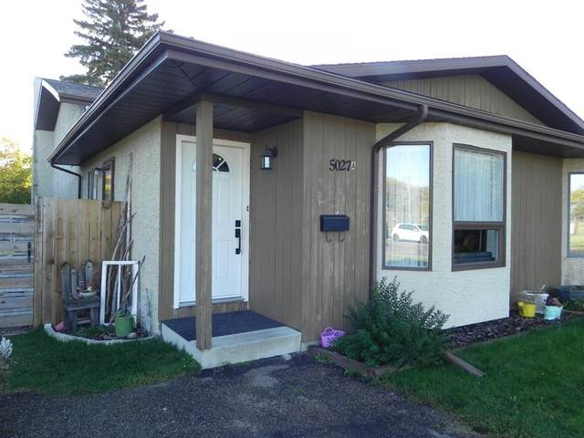 5027A 55 Street, Lacombe, AB T4L 1K9 (#A1037280) :: Canmore & Banff