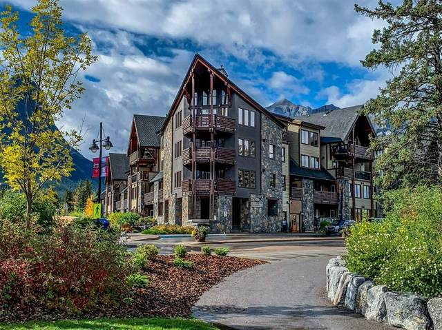 379 Spring Creek Street NW #217, Canmore, AB T1W 0C8 (#A1037318) :: Canmore & Banff