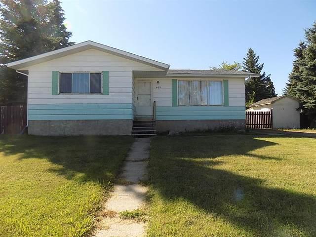 603 9 Avenue W, Hanna, AB T0J 1P0 (#A1037448) :: Canmore & Banff