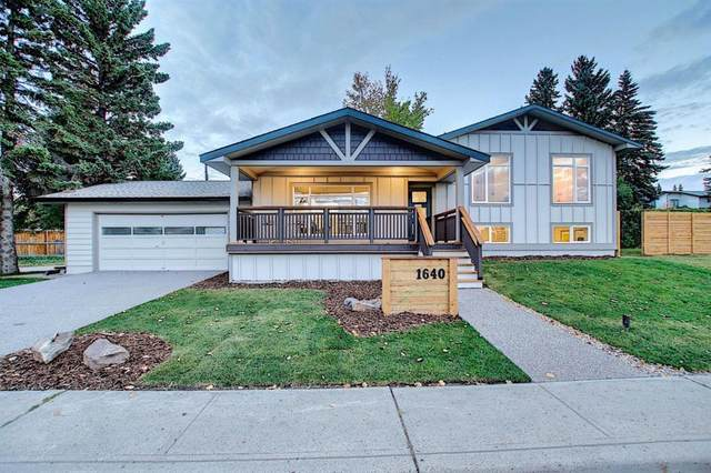 1640 31 Avenue NW, Calgary, AB T2L 0K2 (#A1037540) :: Canmore & Banff
