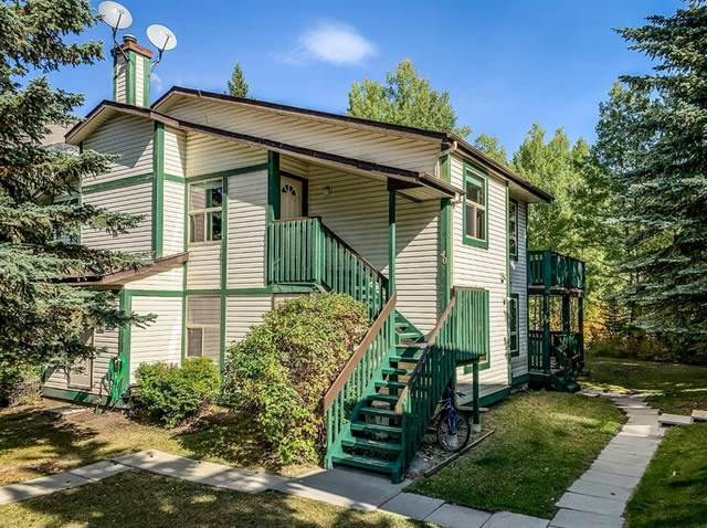 300 2nd Avenue #40, Dead Man's Flats, AB T1W 2W4 (#A1037586) :: Canmore & Banff