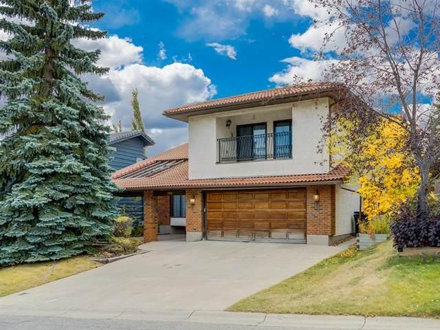 155 Edgehill Court NW, Calgary, AB T3A 2X3 (#A1037711) :: Calgary Homefinders