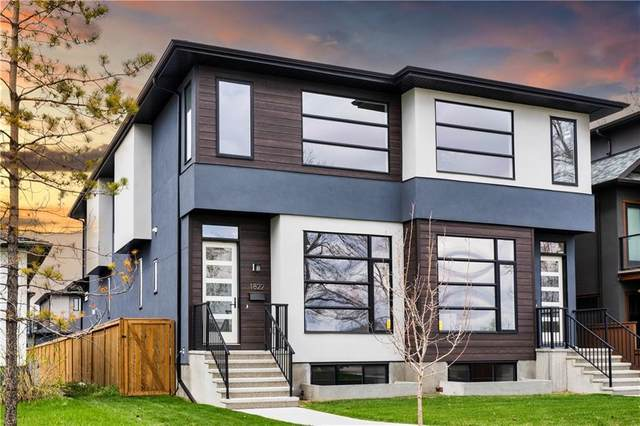 1822 Westmount Boulevard NW, Calgary, AB T2N 3G8 (#A1038079) :: Canmore & Banff