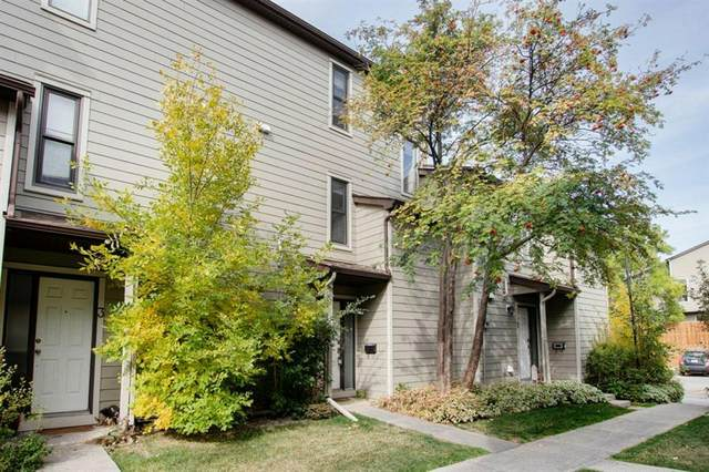 107 Grier Terrace NE #2, Calgary, AB T2K 5Y7 (#A1038096) :: Canmore & Banff
