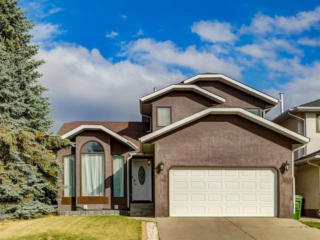 98 Hawkstone Drive NW, Calgary, AB T3G 3L7 (#A1038350) :: Calgary Homefinders