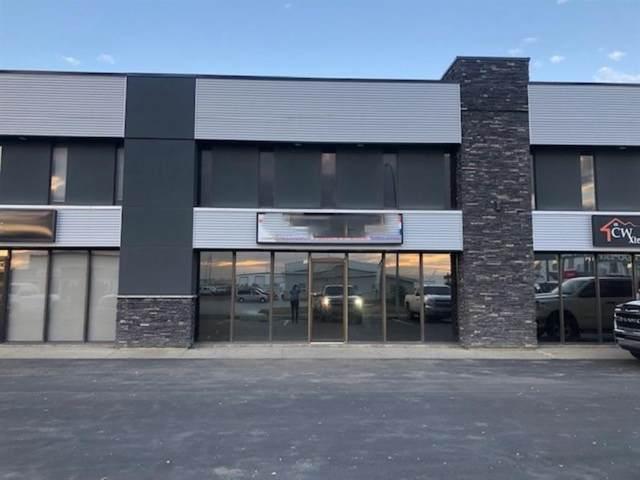 8806 112 Street Bay 12, Grande Prairie, AB T8V 5X4 (#A1038602) :: Team Shillington | Re/Max Grande Prairie