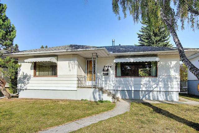 2424 22 Street NW, Calgary, AB T2M 3W6 (#A1038784) :: Canmore & Banff