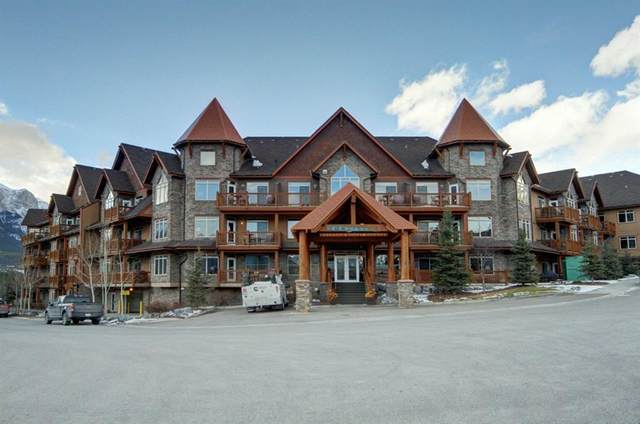 30 Lincoln Park #328, Canmore, AB T1W 3E9 (#A1038804) :: Western Elite Real Estate Group