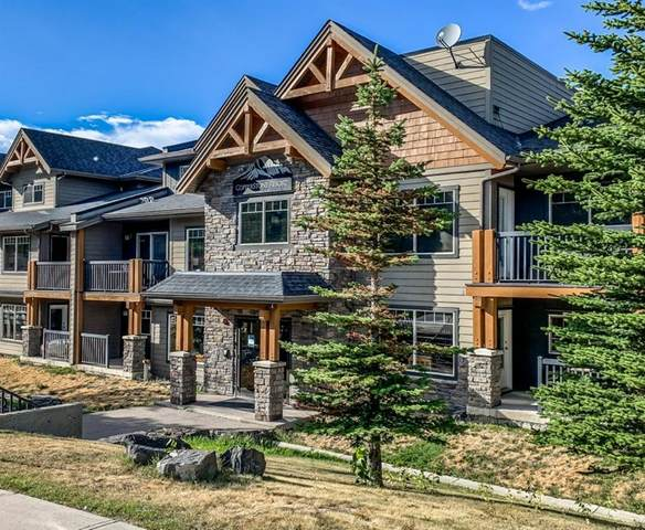 250 2nd Avenue #2206, Dead Man's Flats, AB T1W 2W4 (#A1038866) :: Canmore & Banff