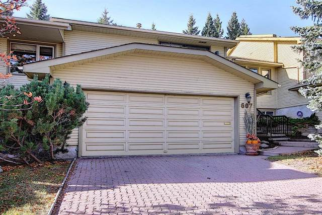 607 Stratton Terrace SW, Calgary, AB T3H 1M5 (#A1039002) :: Canmore & Banff