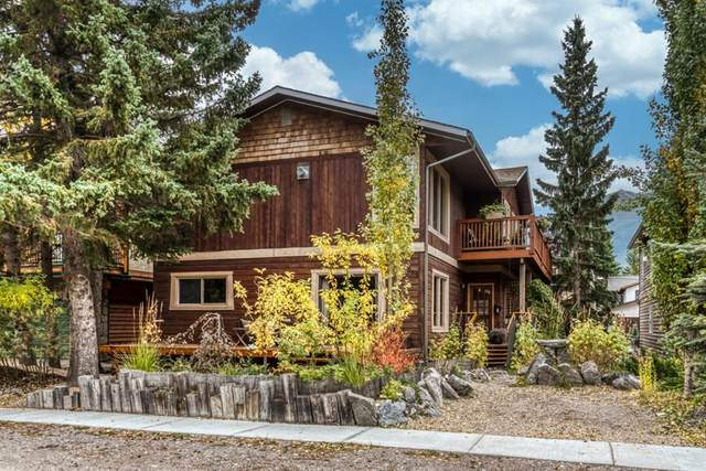 613 5th Street A, Canmore, AB T1W 2E9 (#A1039291) :: Canmore & Banff