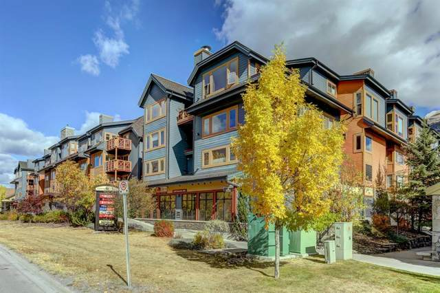 1120 Railway Avenue #406, Canmore, AB T1W 1P4 (#A1039376) :: The Cliff Stevenson Group