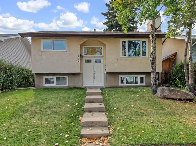 636 Maidstone Drive NE, Calgary, AB T2A 4B7 (#A1039471) :: Canmore & Banff