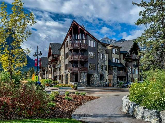 379 Spring Creek Drive #110, Canmore, AB T1W 0G8 (#A1039483) :: Canmore & Banff