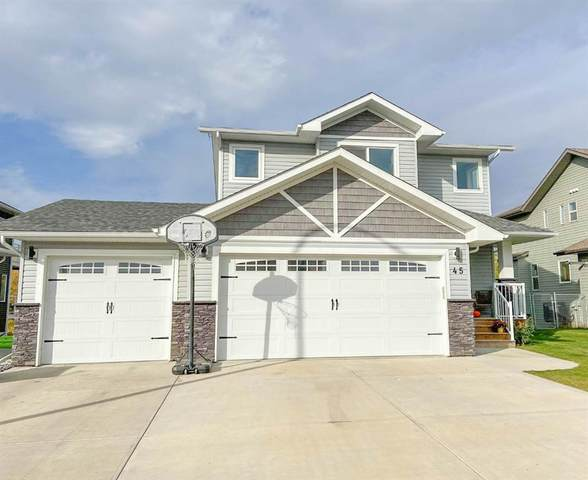 45 Erica Drive, Lacombe, AB T4L 0H4 (#A1039494) :: Redline Real Estate Group Inc