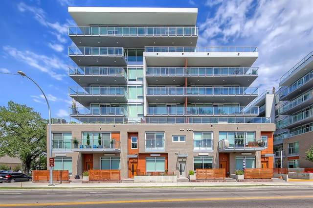 1234 5 Avenue NW #2106, Calgary, AB T2N 0R9 (#A1039552) :: Canmore & Banff